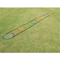 Hoops Agility Ladder Multi - Colour