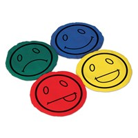 Vinex Smiley Bean Bags - Round