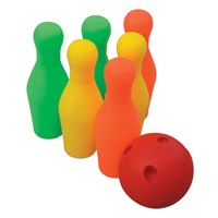 Multi Color Plastic Bowling Set - Small