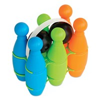 Multi - Color Plastic Bowling Set - Etos