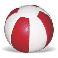 Medicine Ball leather - Soft Touch (Red & White)