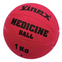 Vinex Rubber Medicine Ball - FLUO