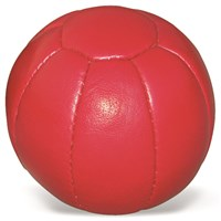 Medicine Ball Leather - Soft Touch Red