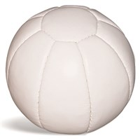 Medicine Ball Leather - Soft Touch White