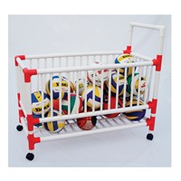 Vinex Ball Carrying Cart - Plastic Pro