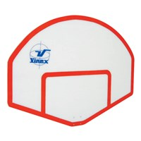 Vinex Basketball Backstop - Fan Shaped