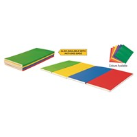 Vinex Gym Mat Folding - Multi-Colour