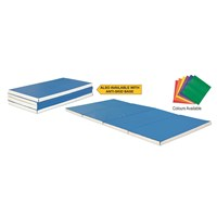 Vinex Gym Mat Folding - Single Colour