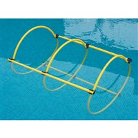 Vinex Weighted Pool Hoops - Tunnel Set
