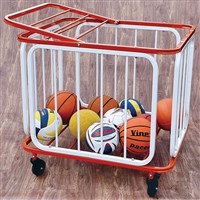 VINEX BALL STORAGE TROLLEY - ALUMA